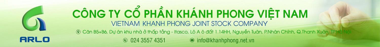 banner công ty cổ phần khánh phong việt nam